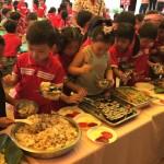 Tiệc buffer dành cho bé ở trường MG Phú An